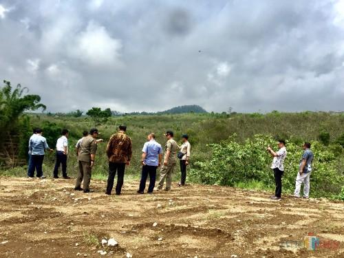 Lahan hijau yang disidak oleh DPRD Kota Batu bersama Pemkot Batu di Desa Bulukerto, Kecamatan Bumiaji. (Foto: Irsya Richa/MalangTIMES)