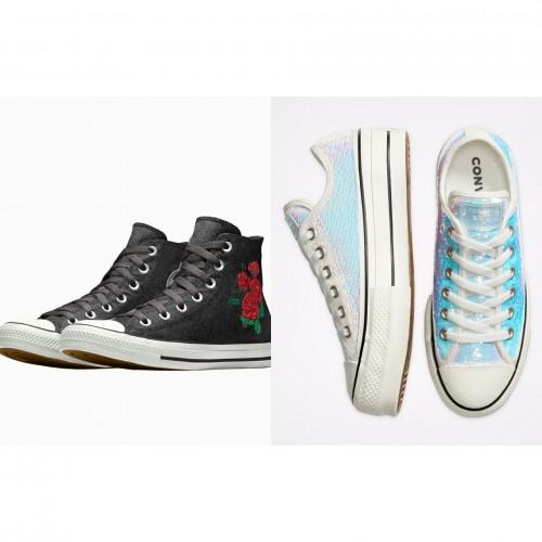Koleksi Sepatu Khusus Pengantin dari Converse (Foto: Istimewa)
