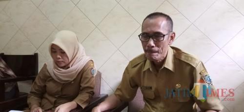 Plt Kepala Dinas Kesehatan Tulungagung, Bambang Triono. (Joko Pramono for Jatim Times)