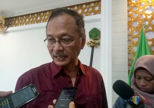 Rektor UIN Malang, Prof Dr Abdul Haris MAg. (Foto: Ima/MalangTIMES)