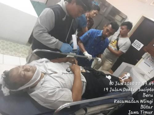 Korban Radimin meninggal di rumah sakit usai minum obat pembasmi rumput.
