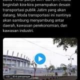 Khofifah Posting Video MRT/LRT Jatim, Warganet: Reaktivasi Saja Rel-Rel KA Lama