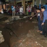 Pipa Saluran Air Bocor Lagi, Wali Kota Malang Sutiaji Cek Langsung Kondisi Lapangan