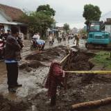 Duh, Pipa Jaringan PDAM Kota Malang Jebol Lagi di Titik Berbeda