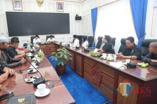Audiensi Ikatan Pedagang Wisata Belanja Tugu Malang dengan Wali Kota Malang (Humas Pemkot Malang for MalangTIMES).