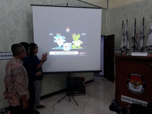 Siro dan Siboy jadi Maskot Baru Pilwali Surabaya 2020