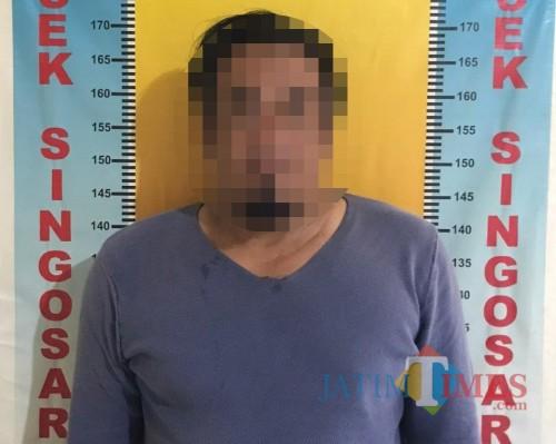 Hajar Brondong, Kabur Dua Bulan Lalu Ditangkap Polisi