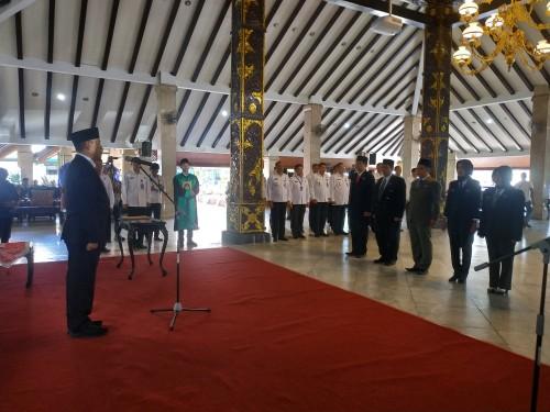 BNNP Jatim Lantik Lima Pejabat Administrator di Malang