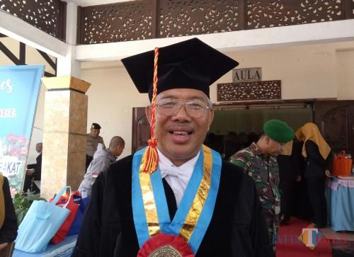Profesor bidang ilmu arsitektur ITN Malang Prof Dr Ir Lalu Mulyadi MT. (Foto: Ima/MalangTIMES)