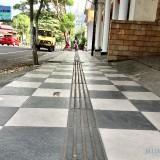 Kota Batu Bangun Trotoar Ramah Disabilitas