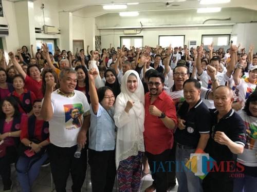 Ratusan Masyarakat Tionghoa Dukung Machfud Arifin jadi Wali Kota Surabaya