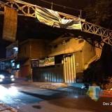Talang Air di Jalanan Tanjungrejo dan Bandulan Merembes Basahi Jalan, DPUPRPKP Tak Bisa Perbaiki, Ini Alasannya