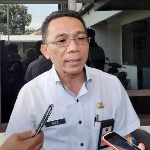 Kepala Badan Pendapatan Daerah (Bapenda) Kota Malang, Ade Herawanto (dokumentasi MalangTIMES).