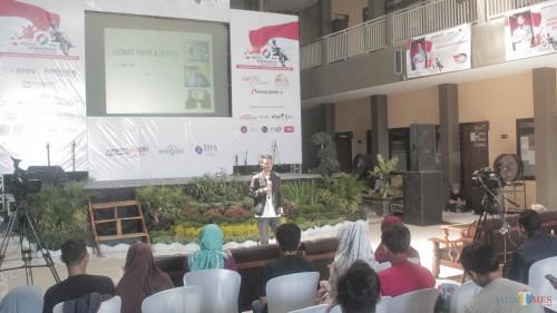 Trend Viral Video YouTube, CEO Idozad Berbagi Kiat Sukses di Pesta Wirausaha Blitar