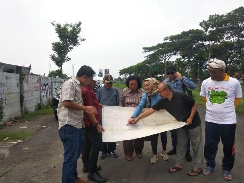 Komisi A DPRD Surabaya Sidak Fasum YKP