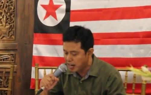 Layar tangkap video Negara Rakyat Nusantara yang kembali ramai beberapa hari ini. Video tersebut merupakan video tahun 2015 yang kembali muncul. (Ist)