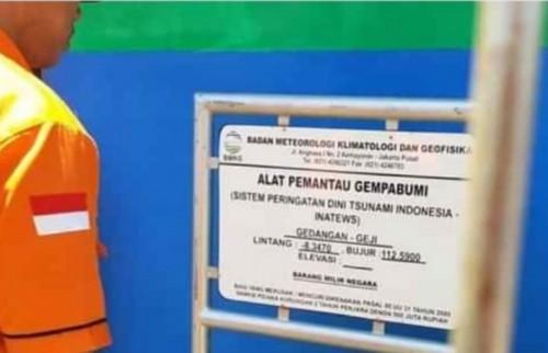 Kabupaten Malang memiliki sensor seismograf untuk mendeteksi gempa bumi dan tsunami. (Ist)