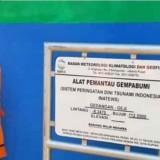 Sensor Seismograf Dioperasikan, Bupati Sanusi: Upaya Ubah Disaster Respon Jadi Risk Reduction