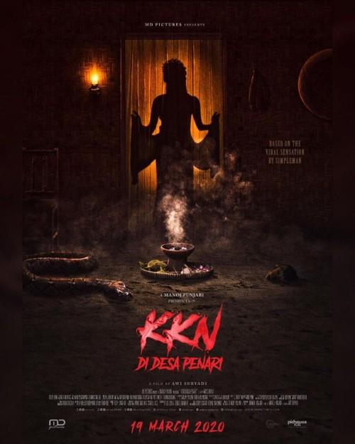 Teaser Poster Film KKN di Desa Penari. (Foto: MD Pictures)