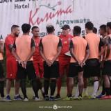 Khawatir Obesitas, Mario Gomez Ingatkan Pemain Arema FC Jaga Badan