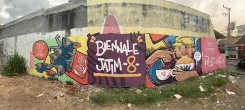 Mural Baru di Dinding Kota Malang Ini Lahir dari Keresahan Para Pekerja