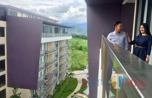 Salah satu bangunan hotel bintang empat di Kota Batu. (Foto: Irsya Richa/MalangTIMES)