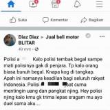 Polres Blitar Ringkus Penghina Polisi di Facebook, Pelaku Gunakan Foto Orang Lain