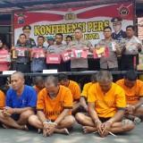 Sepekan, Polres Blitar Kota Ringkus 11 Pelaku Kriminal
