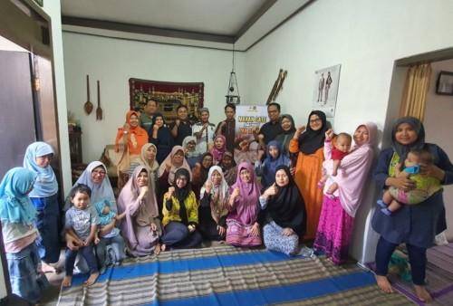 Suasana kegiatan 'Makan Sate bareng Dewan', program salah satu anggota DPRD Kota Malang di Kelurahan Oro-Oro Dowo, Kecamatan Klojen. (Foto: Dok Fraksi PKS DPRD Kota Malang)