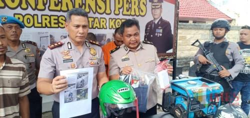 Berkat Medsos, Polres Blitar Kota Ringkus Perampas Ponsel Anak SMP