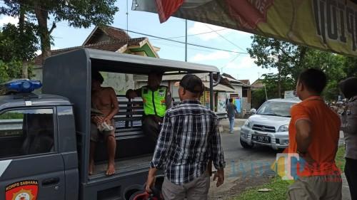 Bikin Resah Warga karena Sering Onani di Pinggir Jalan, ODGJ di Kota Blitar Diamankan Aparat