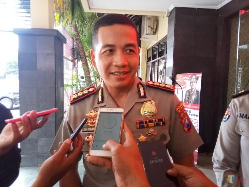 Kapolresta Malang Kota, Kombes Pol Leonardus Simarmata (Anggara Sudiongko/MalangTIMES)
