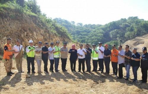 Pembangunan wilayah Malang Selatan terus dikebut, baik sisi infrastruktur jalan sampai fasilitas pendukung pariwisata oleh Pemprov Jatim. (Foto: Istimewa)