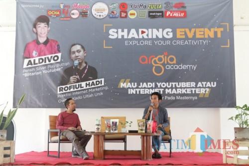 Jadi Youtuber dan Internet Marketer Andal, Simak Strategi dari Argia Academy