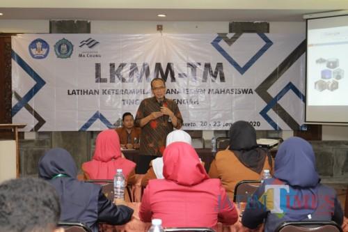 Suasana LKMM-TM yang dilaksanakan di Mojokerto. (Foto: Unikama for MalangTIMES)