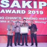 Akuntabilitas Kinerja Baik, Pemkot Kediri Terima SAKIP Award 2019 dari KemenPAN-RB