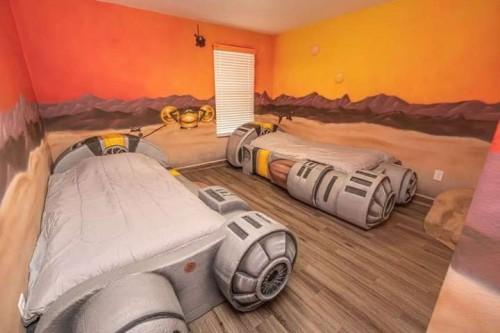 Hotel bak luar angkasa ala Star Wars. (Foto : Istimewa)