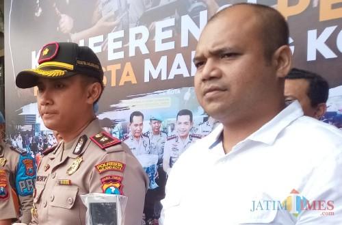 Kasat Reskrim Polresta Malang Kota, Kompol Yunar Hotma. (Anggara Sudiongko/MalangTIMES)