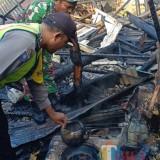 Menidurkan Cucu, Rumah Kakek 67 Tahun  di Malang Ludes Terbakar
