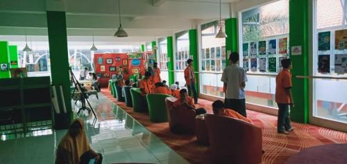 Pameran Aplikasi Multimedia Interaktif Berbasis Android di SMKN 4 Kota Malang (Foto: istimewa)