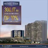 Investasi Terpercaya, Investor Borongan 6 Unit Apartemen The Kalindra Malang