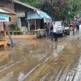 Songgoriti Kota Batu Diterjang Banjir Lumpur
