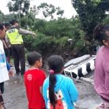 Diterjang Air Sungai Bercampur Lumpur, Jembatan Penghubung di Kecamatan Dau Ambruk, Berikut Videonya