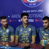 Tiga Pemain Asing Dikenalkan, Arema FC Nuansa Latin