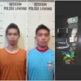 Transaksi Narkoba di Ruang ATM, Dua Pemuda Lawang Dibekuk Aparat Kepolisian