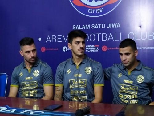 Tiga pemain asing baru milik Arema FC (Hendra Saputra)