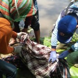 Lansia 85 Tahun Ditemukan Tewas di Tepi Sungai Brantas