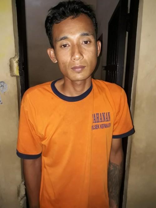 Tersangka pelaku curanmor Suhri, (29). (Foto: Istimewa)