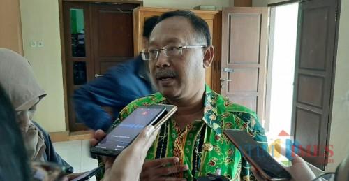 Kepala SMPN 16 Kota Malang Syamsul Arifin. (Foto: Ima/MalangTIMES)