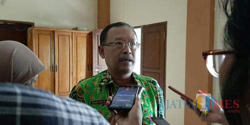 Kepala SMPN 16 Kota Malang, Syamsul Arifin. (Foto: Ima/MalangTIMES)
